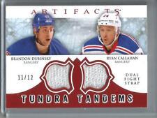 Brandon Dubinsky-Ryan Callahan 12/13 Artifacts Game Used Dual Fight Strap #11/12