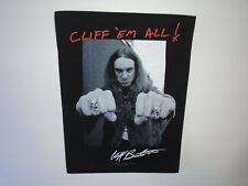 METALLICA CLIFF'EM ALL BACK PATCH