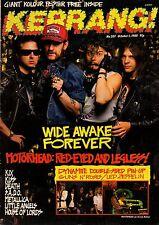 Motorhead on Kerrang Cover 1988     Led Zeppelin   Guns N' Roses