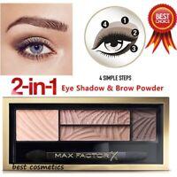 Max Factor Smokey Eye Drama Kit Duo Eye Shadow & Brow Powder 01 Opulent Nudes