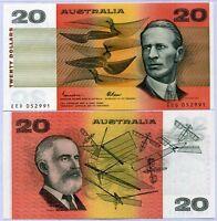 AUSTRALIA 20 DOLLARS P 46 e JOHNSTON FRASER UNC