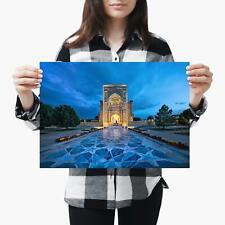 A3  Beautiful Mausoleum Amir Building Size A3 Poster Print Photo Art Gift #3461