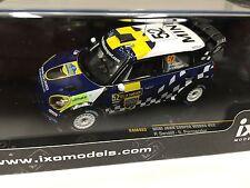 MINI JOHN COOPER WORKS #52 SANDELL Rally SWEDEN- 1/43 IXO VOITURE DIECAST-RAM493