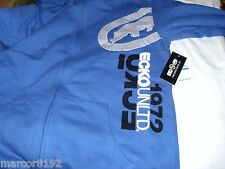 ECKO UNLTD Men's Hoodie Zipper Sweatshirt Blue Small New W/ Tags