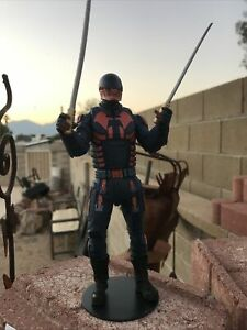McFarlane DC Multiverse Suicide Squad Bloodsport Action Figure. Loose No BAF