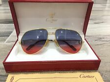 Occhiali Vintage Cartier Vendome Louis Or Sunglasses Brille Lunettes Glasses