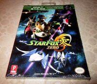 Star Fox Zero-Prima Player's Guide-Brand New/Sealed-Mint