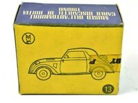 Dugu 1936 Fiat 500 A Topolino #13 Museum Torino 1:43 Original EMPTY BOX Italy
