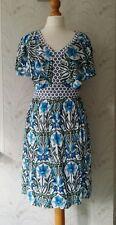 TU Blue & White Floral Dress Size 10