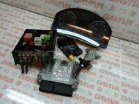 VW JETTA 2.0 TDI DIESEL 2006 ENGINE IGNITION START CONTROL MODULE ECU KIT