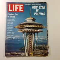 Life Magazine February 9 1962 Seattle World's Fair Preview • George Romney, Mitt