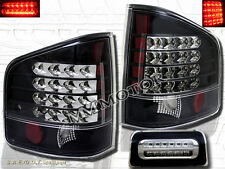94-04 Chevy S10 GMC Sonoma Pickup Truck Black LED Tail Lights & 3rd Brake Lights