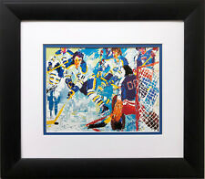 """""""French Connection '77"""" LeRoy Neiman Hockey Art Rangers Sabres Sports USA"""