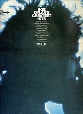BOB DYLAN greatest hits vol III HOLLAND 1967 EX LP