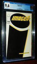 IMAGE PLUS #1 1993 Image Comics CGC 9.6 Near Mint + White Pages