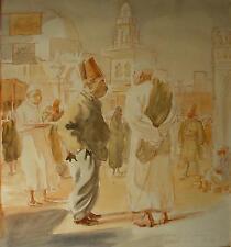 Alfred GERSTENBRAND (1891-1977) Cairo Bazar 1927