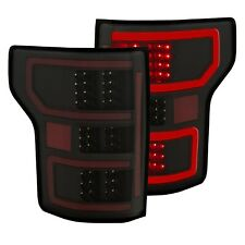 Anzo Tail Lights LED Black For 18-19 Ford F-150 #321338