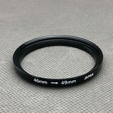 46-49mm Metal Step Up Ring Lens Adapter from 46 to 49mm Filter Thread