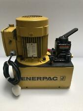 ENERPAC BPE 14000 ELECTRIC HYDRAULIC POWER PACK 700 BAR/10,000 PSI (LOW FLOW)