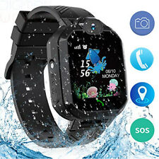 Jaybest Kids Reloj Inteligente Teléfono, IP67 Impermeable libras Tracker Reloj inteligente Negro