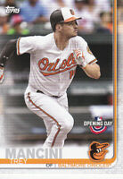 2019 TOPPS BASEBALL OPENING DAY CARD # 44 - TREY MANCINI  - BALTIMORE ORIOLES