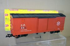 LGB 4067 SOUTHERN PACIFIC SP BOX CAR WAGON 35 BOXED nd