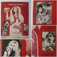 BOCCACCIO 70   1965 Kino Plakat A2 Romy Schneider Sophia Loren Fellini Visconti