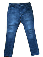 Levis 12 L 33 Slim Leg  Mid Rise Dirty Blue Denim Jeans. Classic 5 pocket jeans,