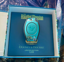 Disney Dooney And Bourke Haunted Mansion 2021 Le 2500 Magic Band Unlinked New