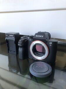 Sony Alpha A7R II 42.4 MP Mirrorless Digital Camera - Black (Body Only) - Fair +