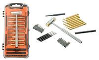 Pin Punch Hammer Screw Bits 27PC Set Gunsmith Drift Pin Hand Gun Repair Tool