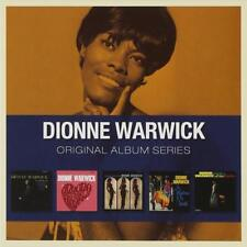 DIONNE WARWICK - 5CD ORIGINAL ALBUM SERIES (NEW SEALED) Inc Presenting Make Way