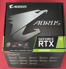 GIGABYTE AORUS GeForce RTX 2080 SUPER WATERFORCE GDDR6 Graphics Card - 8GB