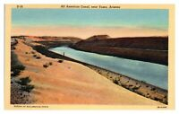 All American Canal near Yuma, AZ Postcard *5N(2)7