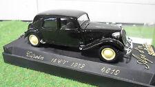 CITROËN 15 CV 1952 TRACTION 1/43 AGE D'OR d SOLIDO FRANCE 4519 voiture miniature