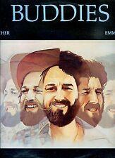 BUDDIES spicher emmons UK 1977 EX LP BUDDY EMMONS