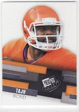 Tajh Boyd - Rookie Card Press Pass 2014 Clemson Tigers QB Card #7
