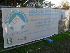 OUTDOOR MESH BANNERS  6m x 1.5m FREE SHIPPING & ARTWORK