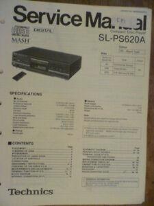 Technics  SL-PS620A  Compact Disc Player  ORIGINAL Service Manual