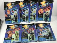 Lot (7) Space Precinct 1994 Action Figures Space Aliens