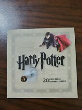 Usps Harry Potter 20 First-Class Forever Stamps Booklet + Dumbledore Card