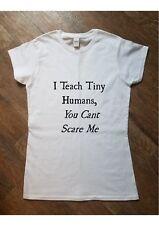 TEACHER Printed T Shirt Women's Fashion Gift Funny Gift Teaching Present Joke
