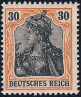 DR 1915, MiNr. 89 II y, tadellos postfrisch, gepr. Jäschke-Lantelme, Mi. 110,-