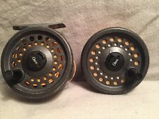 VINTAGE ORVIS CLEARWATER 3/4 FLY REEL MADE IN ENGLAND WITH EXTA SPOOL!