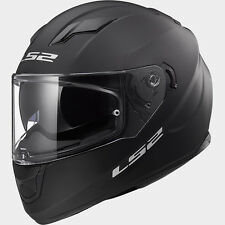 CASCO HELMET INTEGRALE FF320 STREAM MATT BLACK LS2 SIZE S