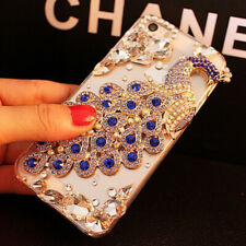Luxury Bling Peacock Crystal Diamond Phone Case for iPhone11 Pro Max XS 6 7 8 XR
