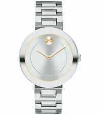 NWT Movado Women's 3600497 'Bold' Stainless Steel Watch