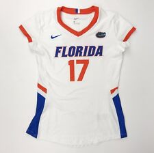 New Nike Women's M Florida Gators Hyperspace Cap Sleeve Volleyball Jersey #17