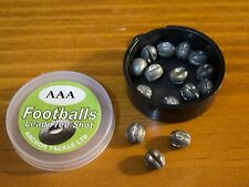 Anchor NON-TOXIC Football Split Shot Refill Pot - size AAA