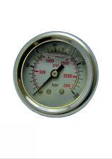 Pressure Washer Pressure Gauge 0-160 Bar 2300 Psi  Glycerine Filled